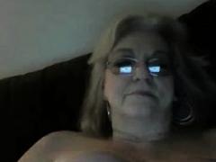 Addicted granny