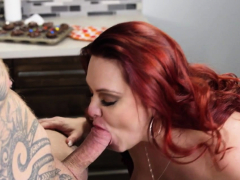 Big beauty gets banged and creampied